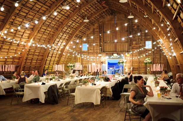 Simpson Barn Decorated For The Wedding Salisbury House Desmoines