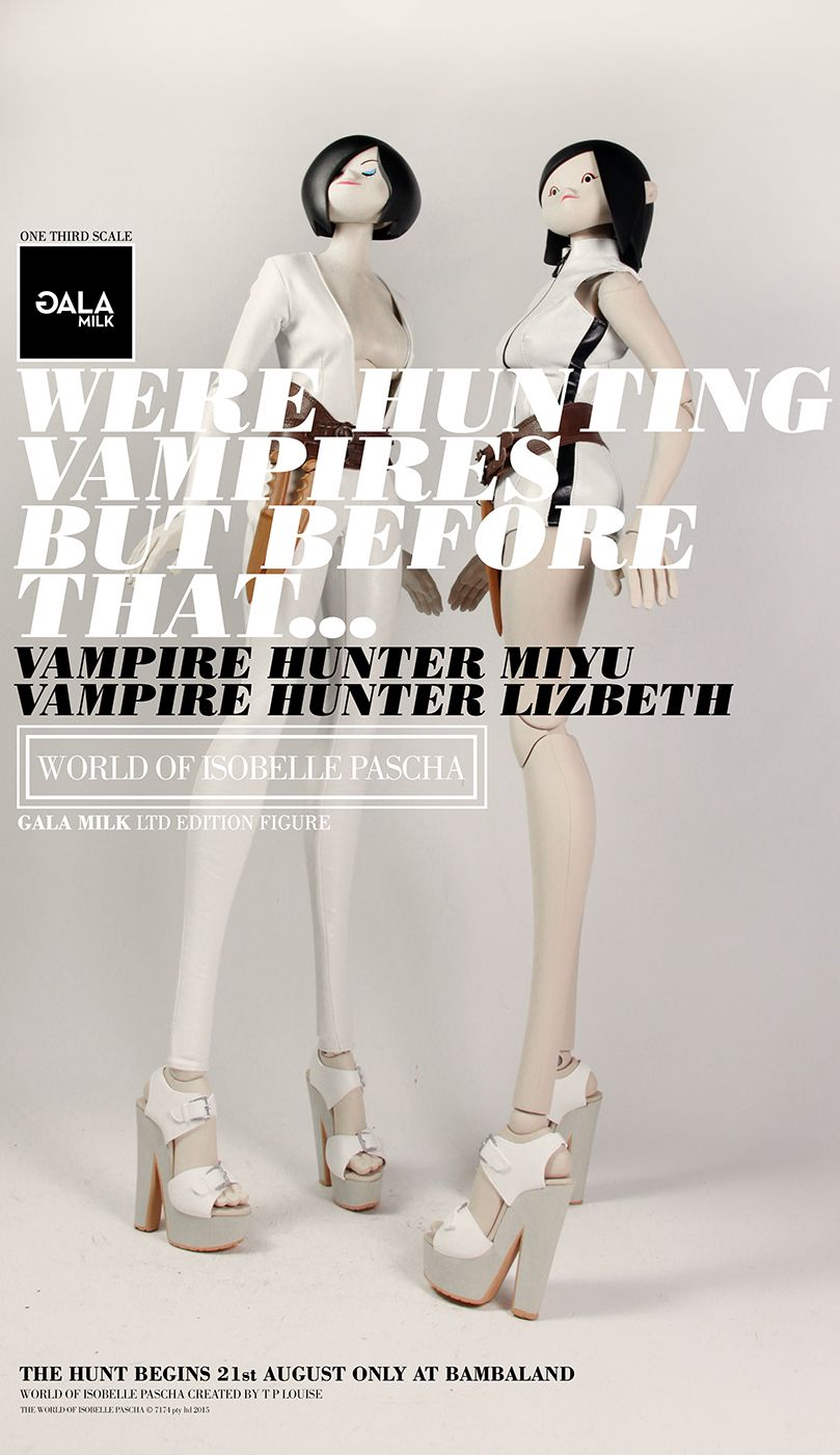 """GALAMILK 24"""" tall The World Of Isobelle Pascha 