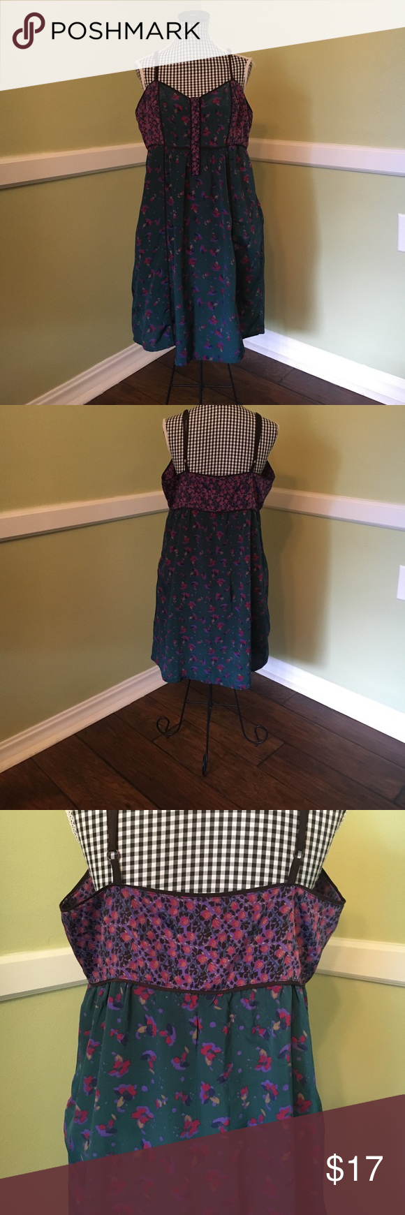 Women's small Ecote' by Urban Outfitters dress EUC and never worn women's small Ecote' dress by Urban Outfitters   100% polyester and lightweight fabric make for the perfect spring time look!   Dress features hues of green and purples, with a mesmerizing design.   Dress is in perfect condition, with adjusting spaghetti straps for multiple levels of coverage.   Dress come from a clean, smoke-free home Urban Outfitters Dresses