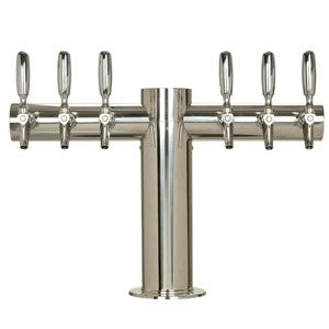Beer Tower Metropolis T 6 304 Faucets Polished Stainless