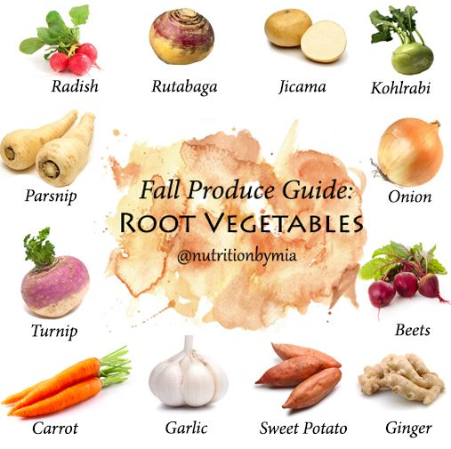 Fall produce guide root vegetables for Fall cooking tips