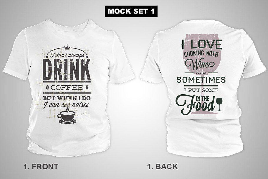 Download T Shirt Mock Ups Big Bundles Clothing Mockup Tshirt Mockup Shirt Mockup