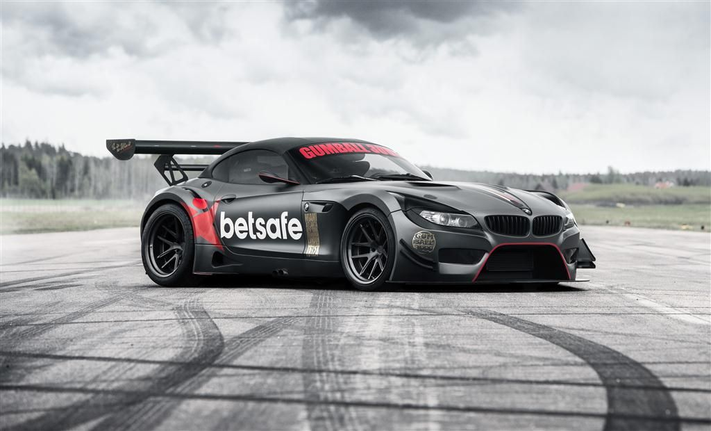 2009 Bmw Z4 Gt3 V Built Exclusively For Gumball 3000 Of Westcoast