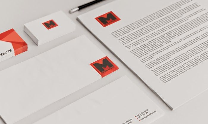 stationery psd mockup | mockups psd templates for designers, Powerpoint templates