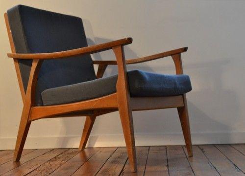20 exemples de fauteuils dans le style des années 50 fauteuil-style ...