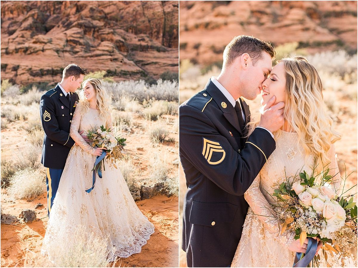 Snow Canyon | Ashley DeHart Photography | Utah Wedding Photographer ...