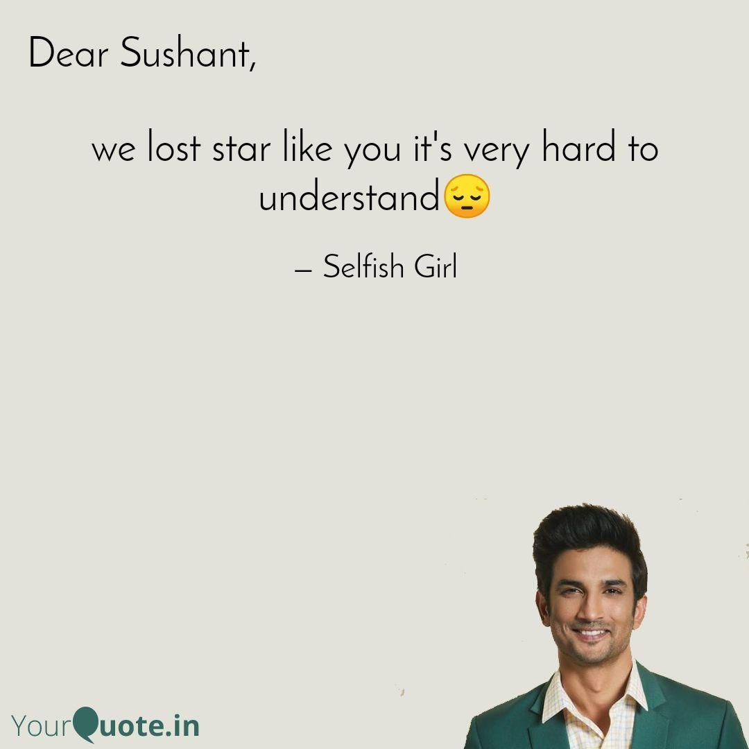 We lost you it's not easy to understand and accept ... Rip sir #indianbollywood #bollywood #bollywoodactor #shushantsinghrajput #ssr #missyou #lostyou #sad #quotes
