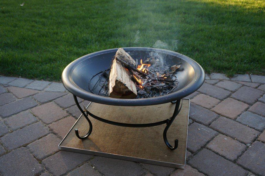 Deck Fire Pit Mat Fire Pit Design Ideas Fire Pit Mat Deck Fire Pit Fire Pit Deck Protector