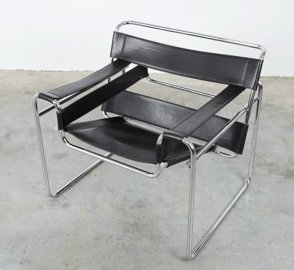 Attrayant Wassily Chair By Marcel Breuer For Fasem