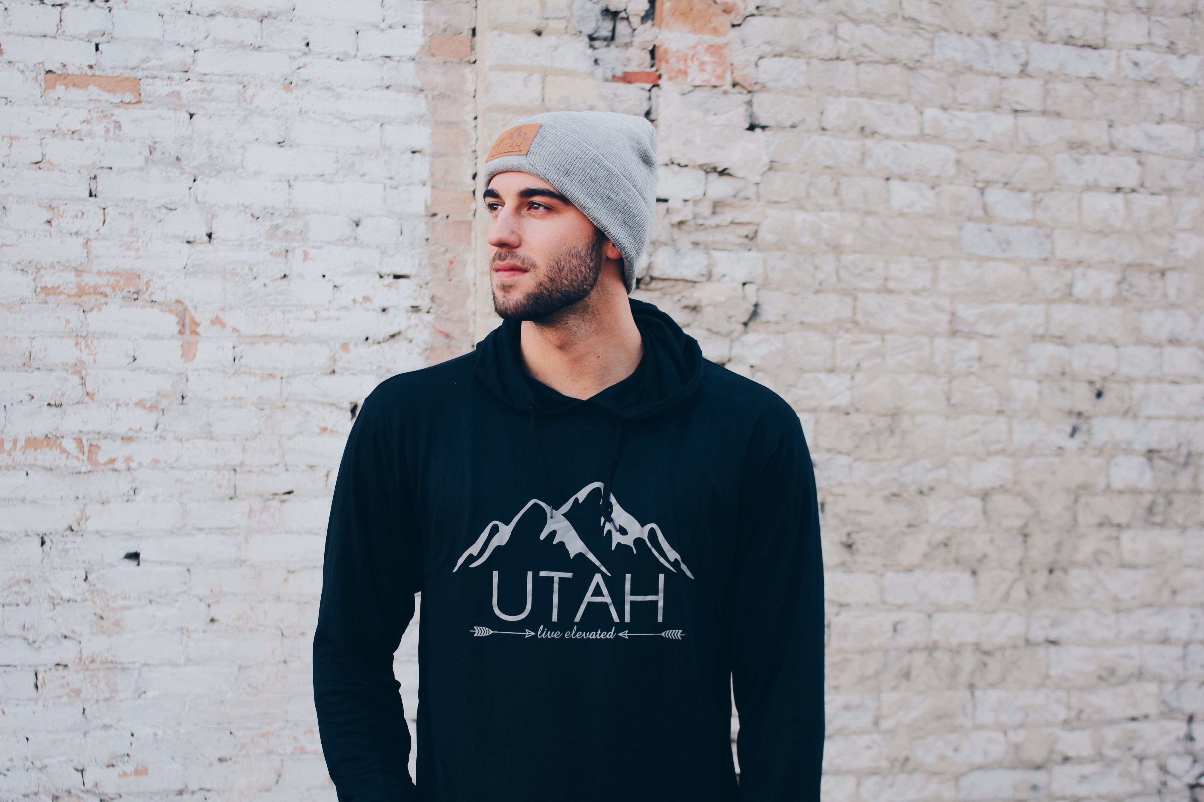 Let's adventure in Utah ☽ ✩ Save 25% off all orders with code PINTERESTXO at checkout | Women's & Men's Beanie Winter Fashion | Utah Live Elevated Collection by Lady Scorpio | Shop Now LadyScorpio101.com | @LadyScorpio101