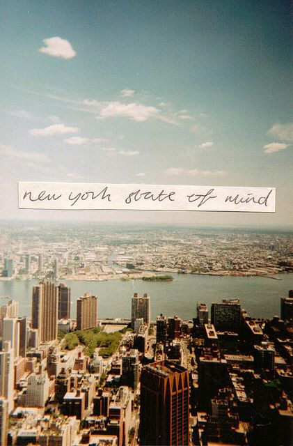 I Want To Wake Up In The City That Never Sleeps Empire State Of Mind New York York