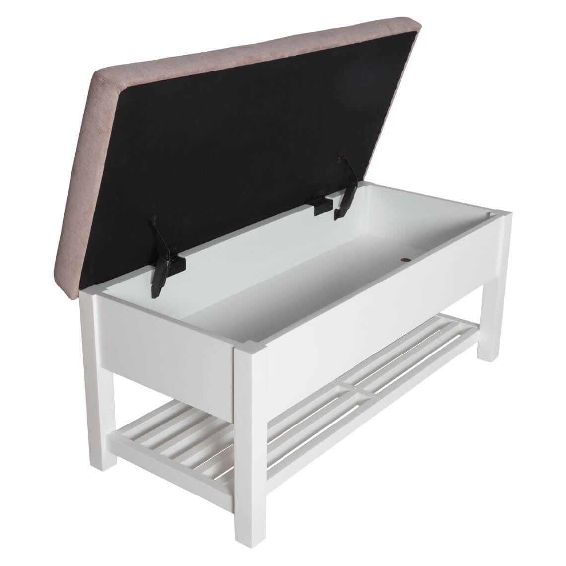 Superb Freedom Bobbie Storage Bench Size W 100Cm X D 45Cm X H 46Cm Inzonedesignstudio Interior Chair Design Inzonedesignstudiocom