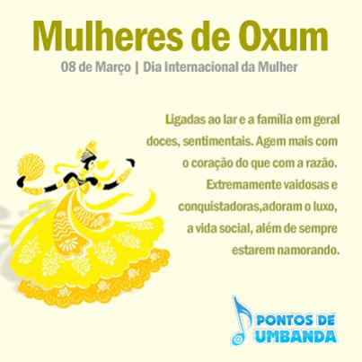 Mulheres de Oxum