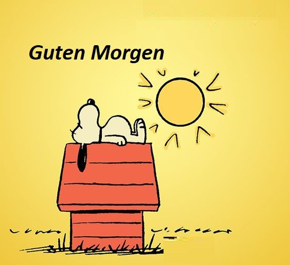 Guten Morgen Snoopy Guten Morgen Sunny Day Quotes