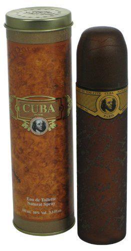 Cuba Gold By Cuba For Men Eau De Toilette Spray 3 3 Ounces By Cuba Men Perfume Mens Fragrance Eau De Toilette