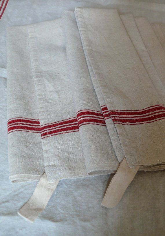 French Vintage Linen Tea Towels/Torchons Unused and as New. A Pair on french dish drainer, french dish plates, french hand towels, french towels made in france, japanese towels, french corkscrew, french beach towels, french utensils, french mittens, sentiment bistro towels, french cutting boards, french bistro towels, french flour sack towels, french country towels, french dish drying rack, french sugar, french chef towels, french knives, french bath towels, french blue towels,
