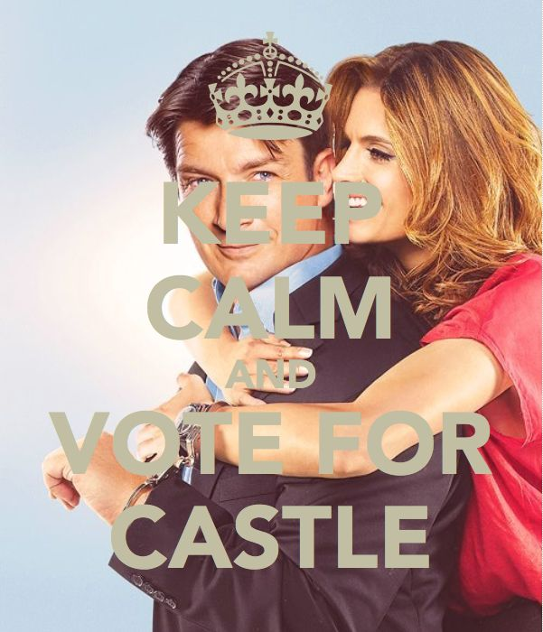 Keep Calm and Vote for Castle - PeoplesChoice