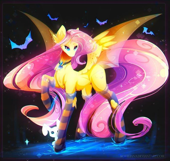 Flutterbat http://dlvr.it/Mq6QSK - Please like and share this post and support your favorite My Little Pony fan artists!