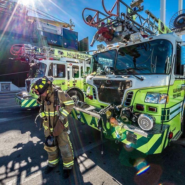 Miami-Dade Fire Rescue At The Port