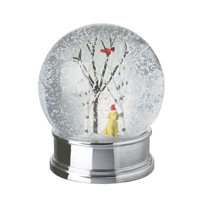 Weihnachten Dekorationen Heaven Sends Golden Labrador Weihnachten Schneekugel