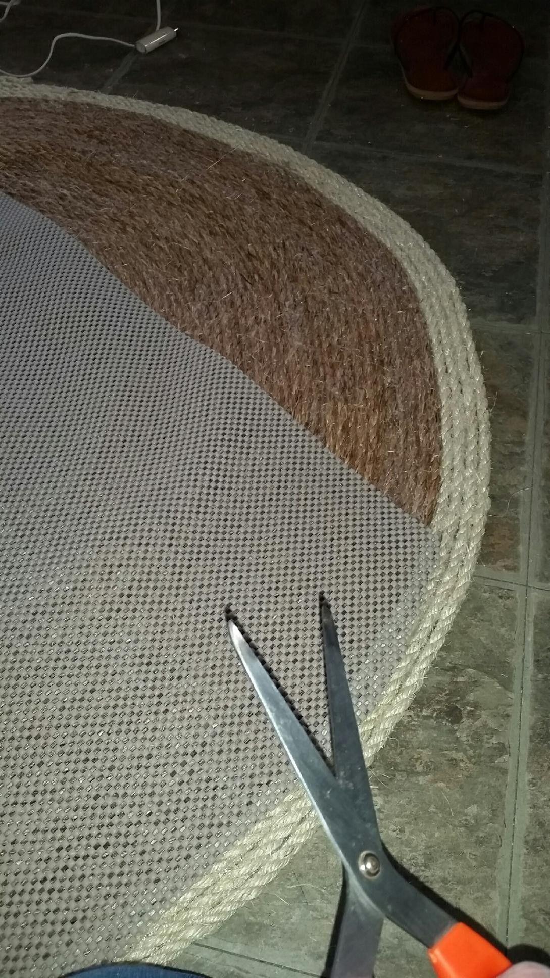 DIY Sisal Rug | DIY furniture | Rugs, Rugs for less, Sisal