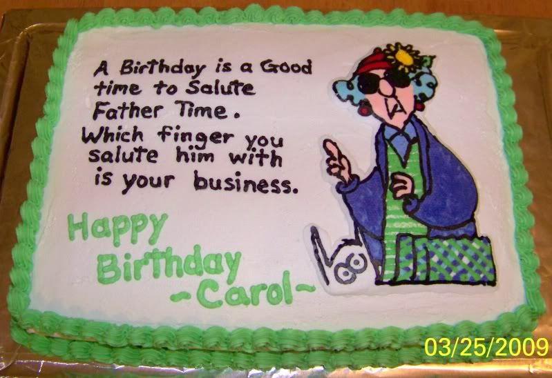 Maxine Quotes Maxine Birthday Cake 11X15 Graphics ...