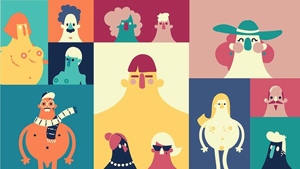 Colorful, Visually-Appealing Illustrations Simplifying The Topic Of AIDS - DesignTAXI.com