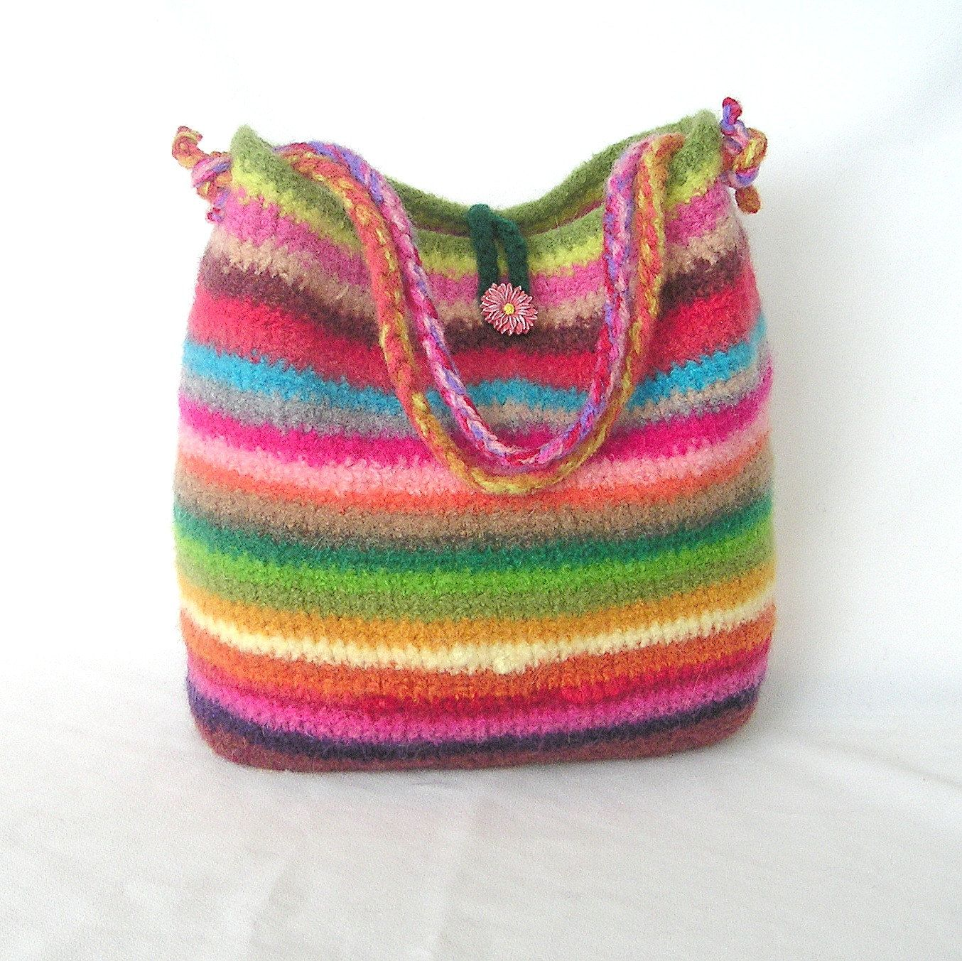 crochet purses | Over 100 Free Felted Knitted Bags, Purses and Totes ...