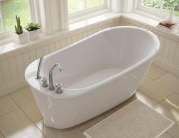 Sax Freestanding Bathtub From Menards 599 00 Home Improvement