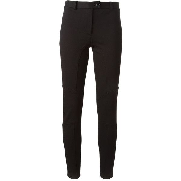 skinny trousers Cheap and chic moschino (8.775 UYU) ❤ liked on Polyvore featuring pants, trousers, viscose pants, skinny trousers, zipper trousers, skinny leg pants and skinny fit pants