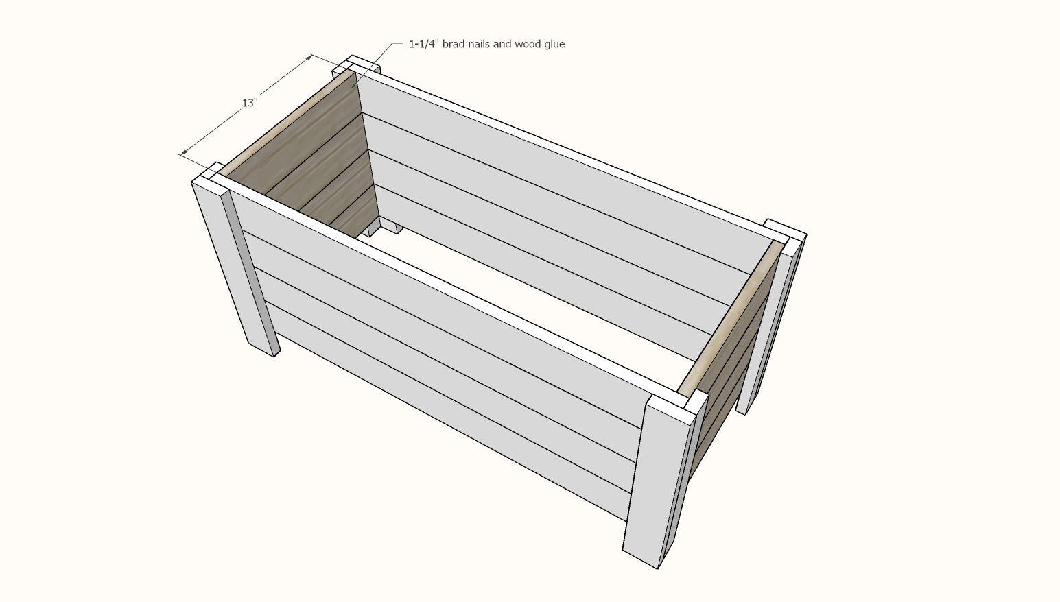 Terrific Farmhouse Toy Box Diy Furniture Farmhouse Toy Boxes Ncnpc Chair Design For Home Ncnpcorg