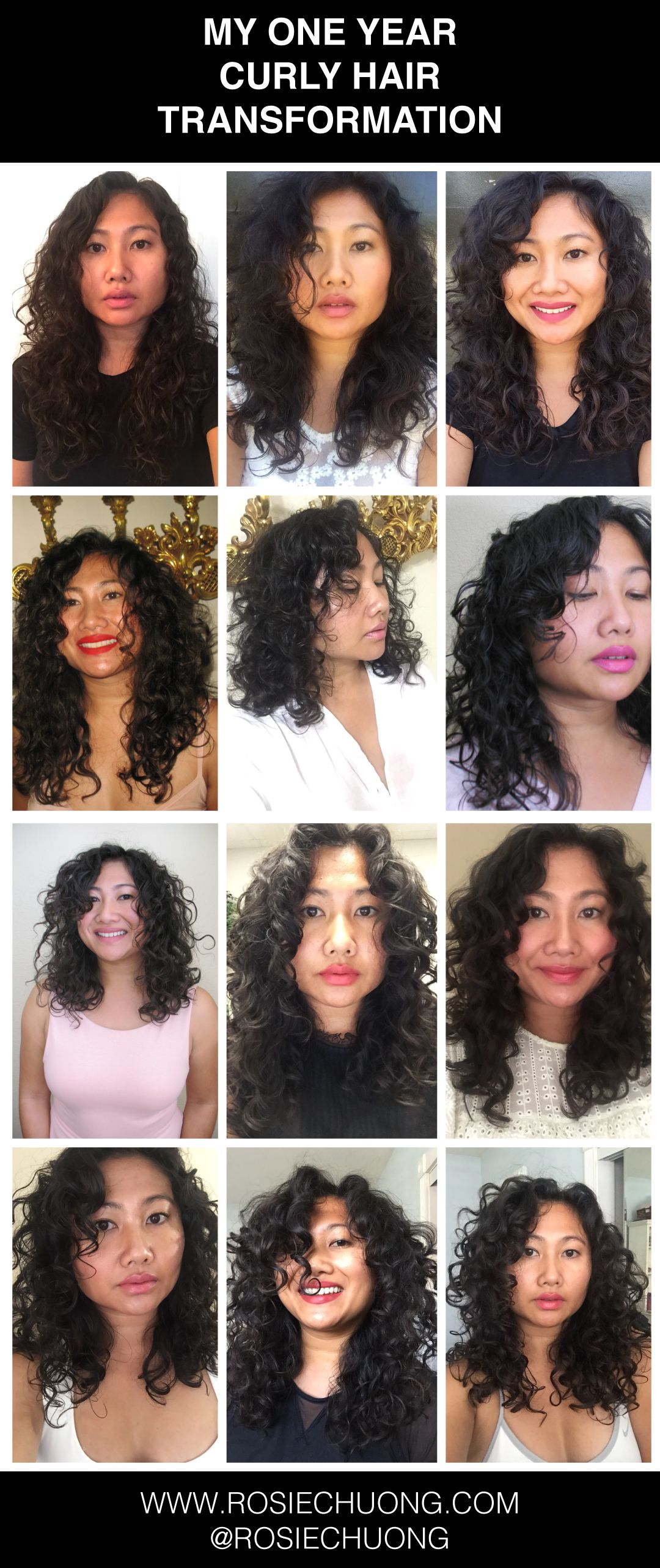 What One Year Of Embracing My Naturally Curly Asian Hair Has