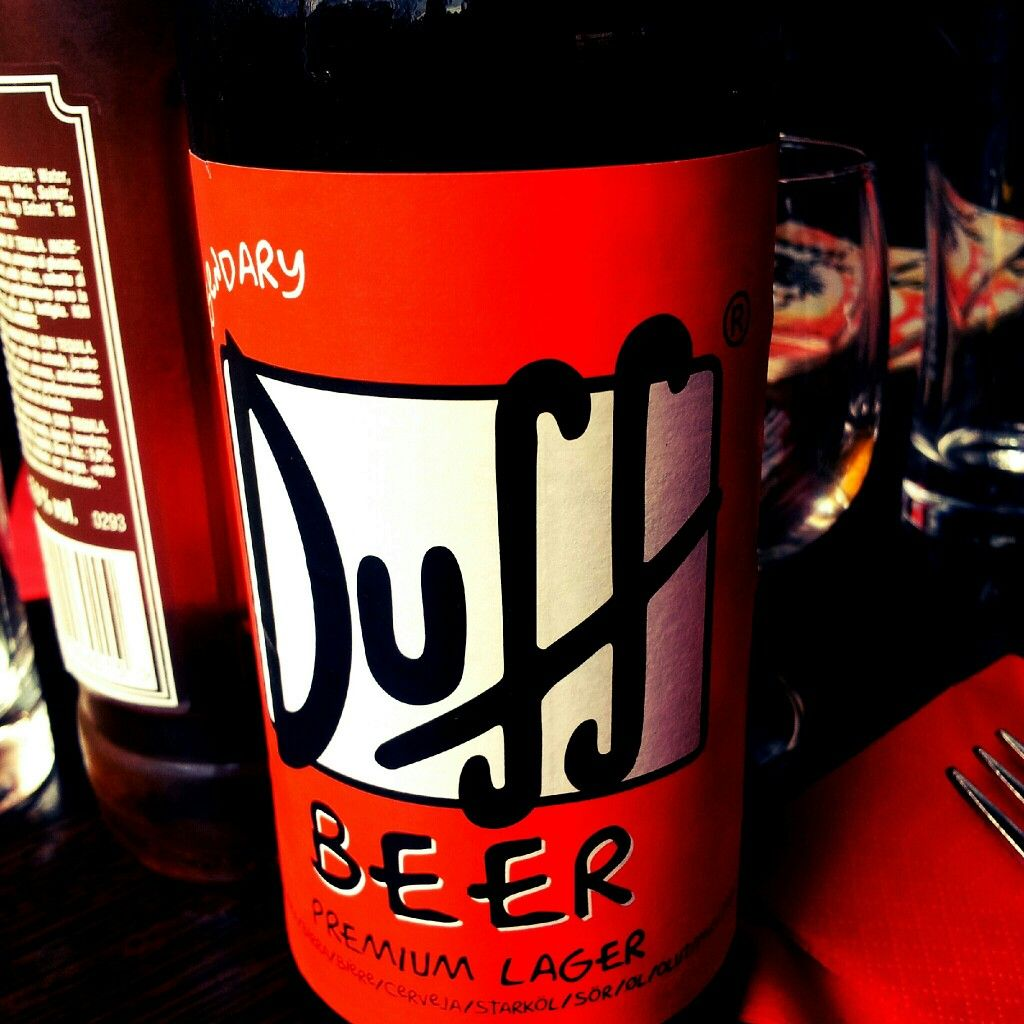 The Simpson's beer