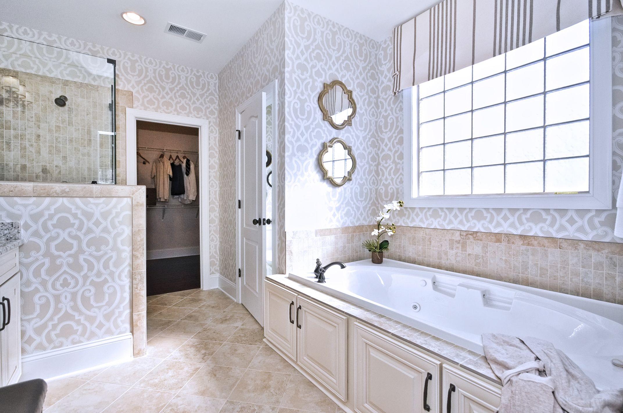 Essex Homes - Katherine Model Owner\'s Bath Timberlake Sierra Vista ...