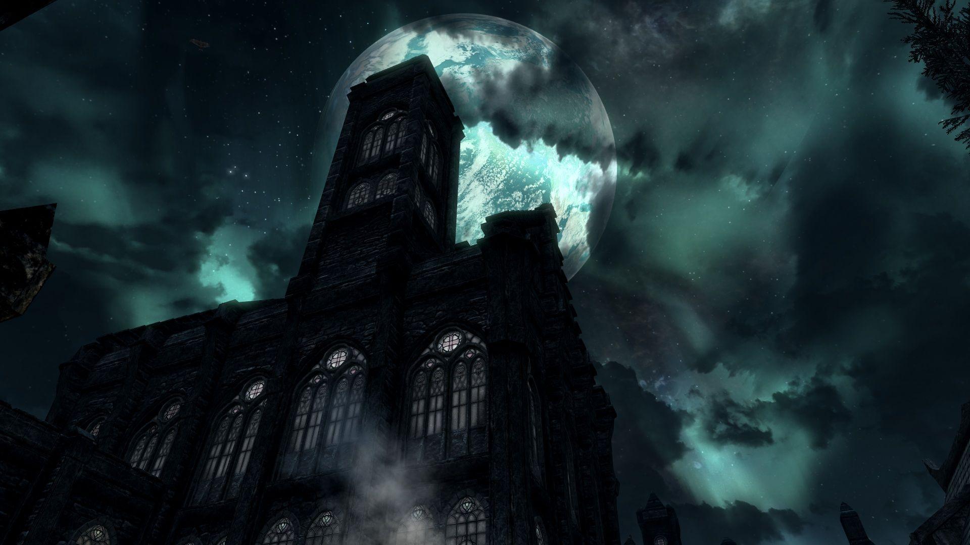 vampire castle wallpaper desktop background bli4