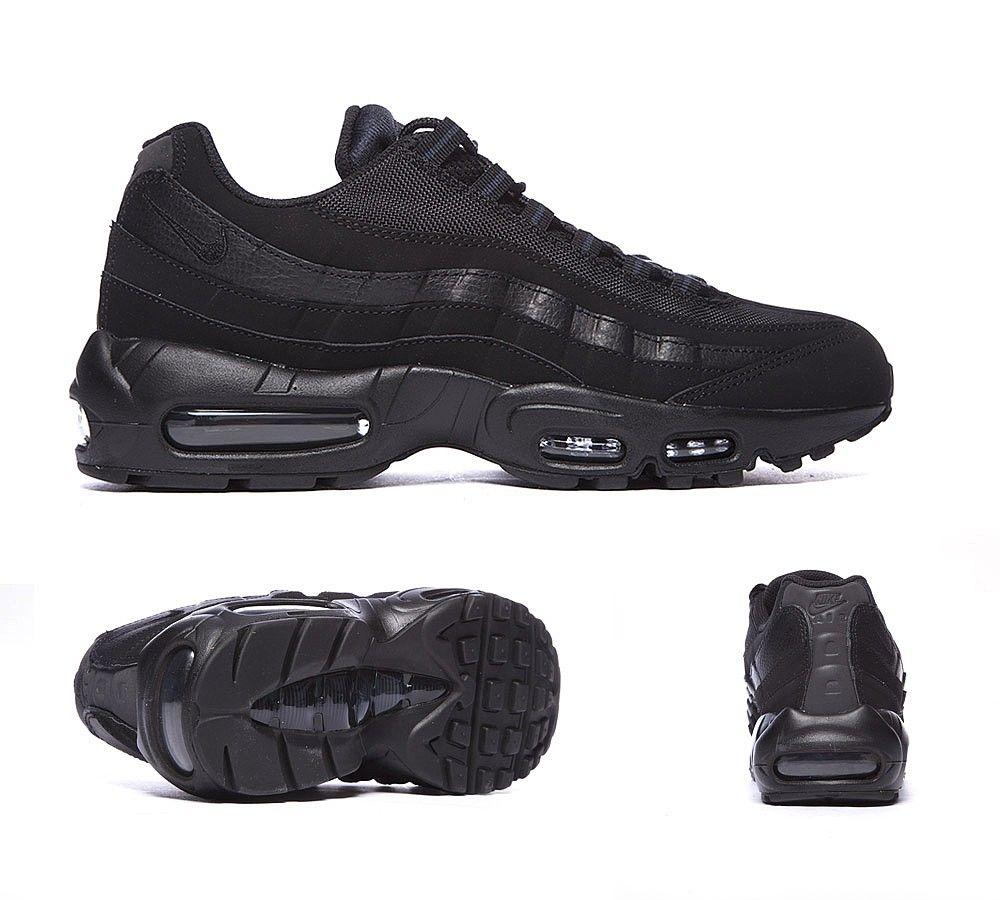 low priced dda88 eb168 Nike Air Max 95 Trainer   Black/ Anthracite   Footasylum ...