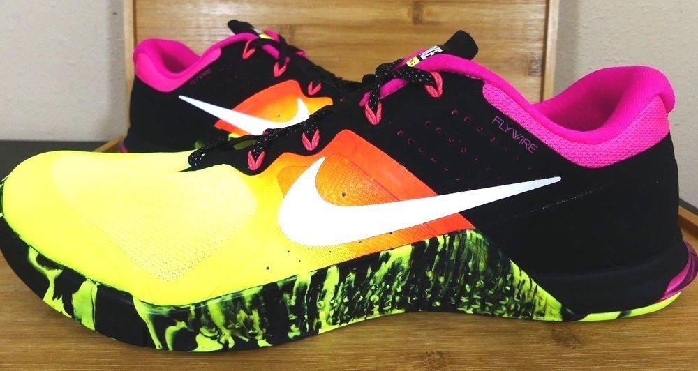 New Nike Metcon 2 Multi Color Volt