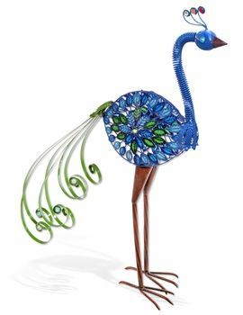 Upright Peacock Garden Statue...I Am Ordering One To Put In The New
