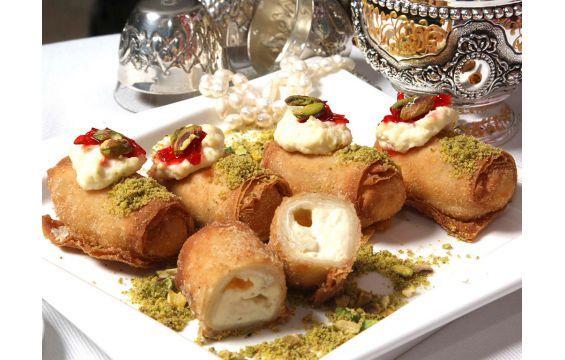 زنود الست العجيبة Ramadan Desserts Food Lebanese Desserts