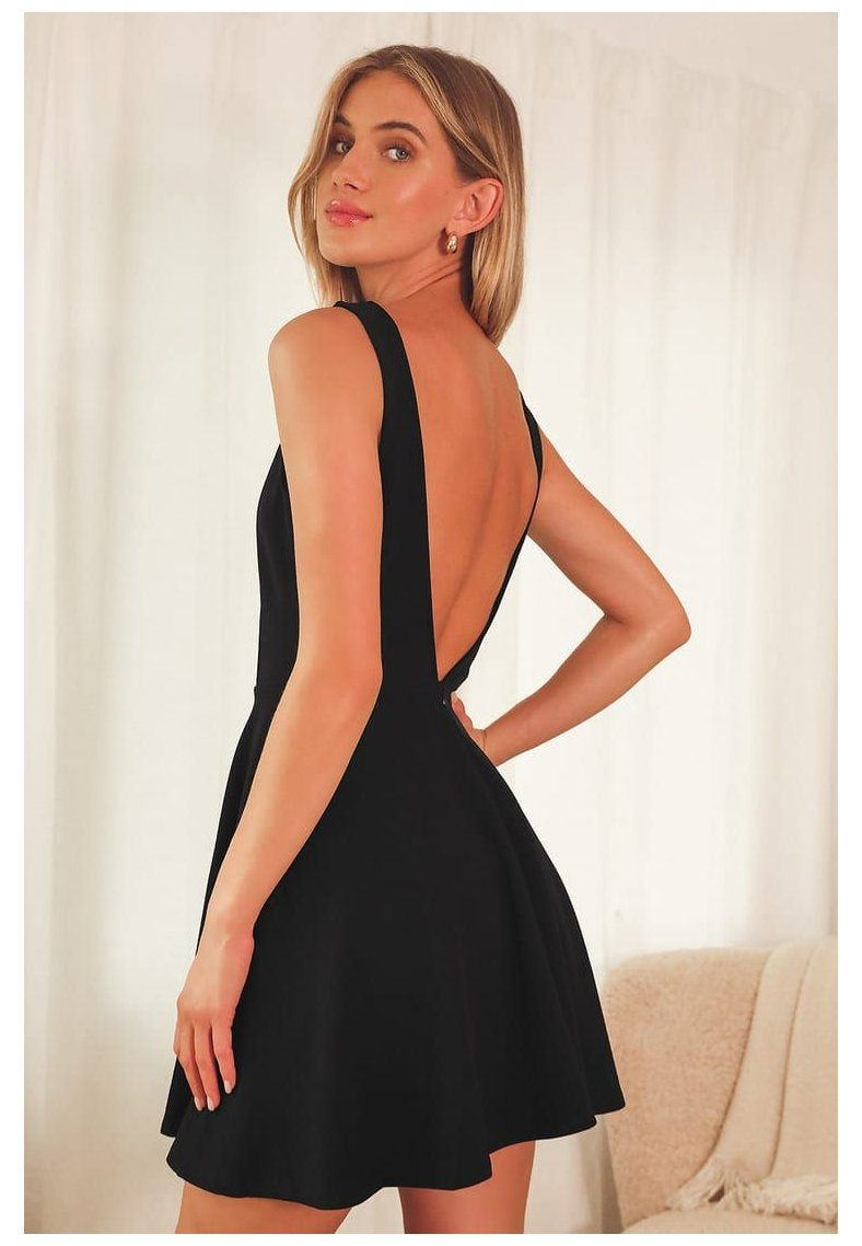 Pin By Malak Hassan On My Saves In 2021 Cocktail Dress Classy Backless Cocktail Dress Black Formal Dress Short [ 1138 x 788 Pixel ]