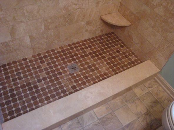 Shower Corner Footrest With Images Shower Tile Tiles