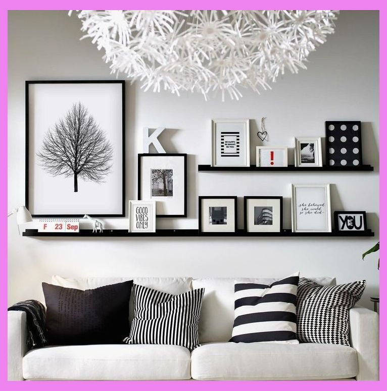 20 Magnificient Wall Decoration Ideas For Your Living Room Wall Decor Living Room Living Room Decor Apa Room Wall Decor Wall Decor Living Room Black Decor