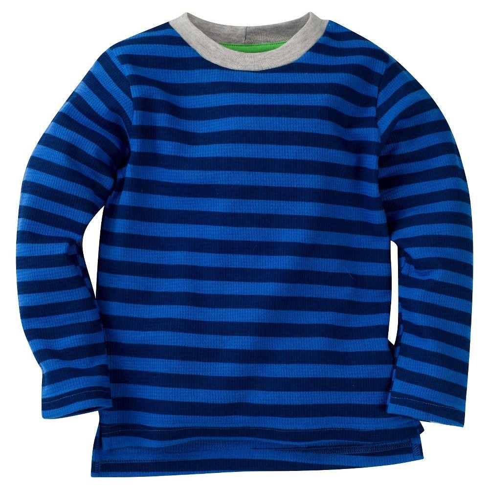 Gerber Graduates Toddler Boys' Striped Long Sleeve Shirt - Blue 24M, Toddler Boy's, Size: 24 M