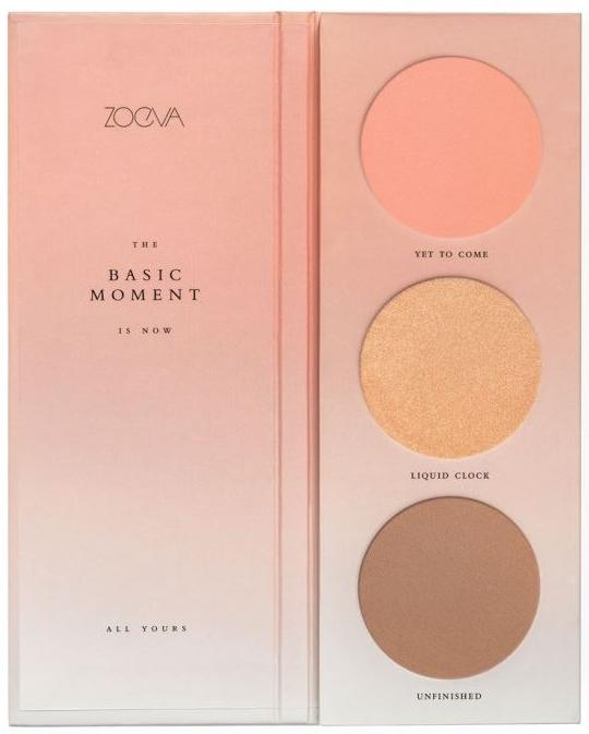 Zoeva The Basic Moment Blush Palette Szépségápolási Termékek d398ef2fbd