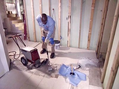How To Remove A Tile Floor Tile Flooring Grout And House
