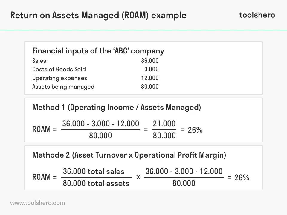 Return on Assets Managed (ROAM) (met afbeeldingen)