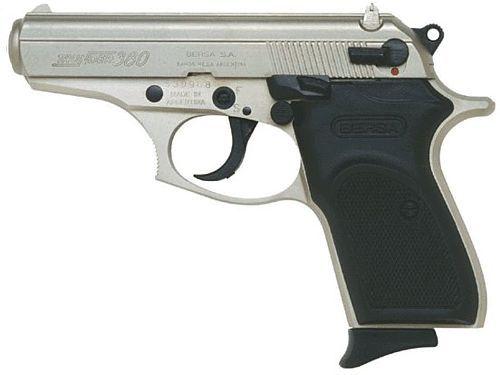 Bersa Thunder  380, super concealable pocket pistol