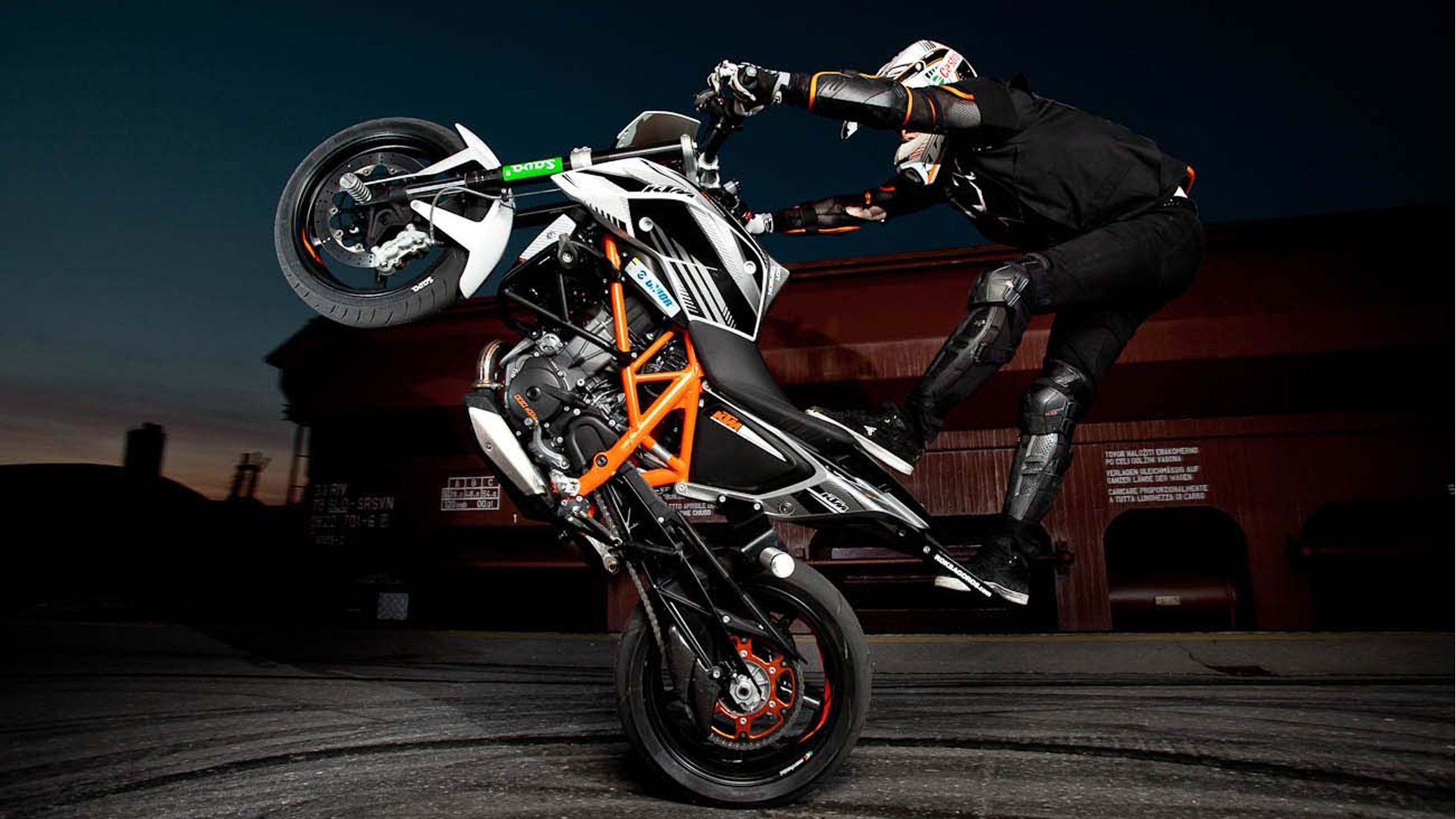 Обои duke, 690, stunt. Мотоциклы foto 9