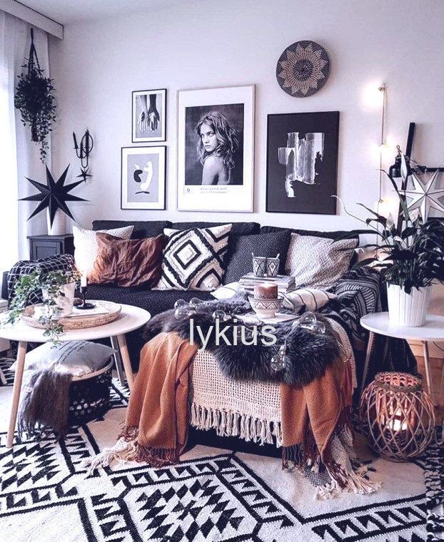 bohemian home accessories Cozy Bohemian Farmhouse Decorating Ideas For Living Room 19 bohemian home accessories