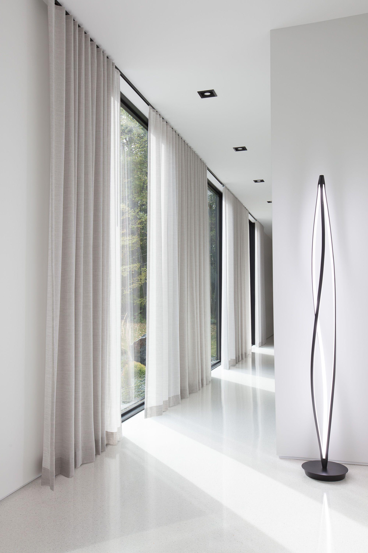 Coastal Window Treatments Style Inspiration Floor To Ceiling